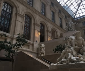 louvre, museum, and paris image