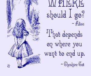 alice in wonderland, Lewis Carroll, and quotes image