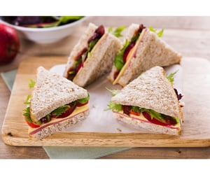 sandwiches, food, and yummy image
