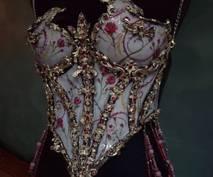 corset, fashion, and gorgeous image