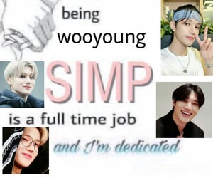 meme, wooyoung, and jung wooyoung image