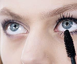 gif, makeup, and mascara image