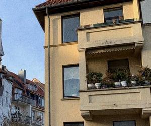 aesthetic, balcony, and beautiful image