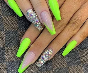 nails, beauty, and entertainment image