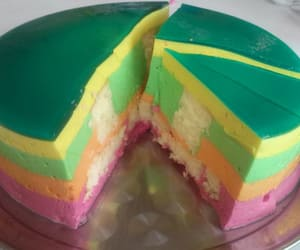 cake, candy, and jelly image