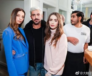 zac efron, mirror mirror, and lily collins image