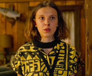 eleven, stranger things, and millie bobby brown image