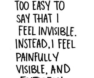 invisible, quotes, and ignored image