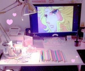decor, desk, and inspiration image