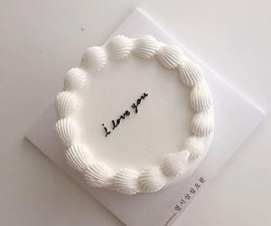 cake, white, and aesthetic image