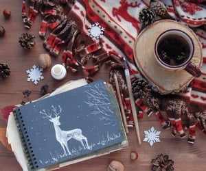 coffee, new year, and merry christmas image