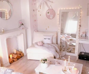 candles, inspiration, and pillows image