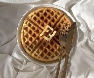 food, fendi, and waffle image