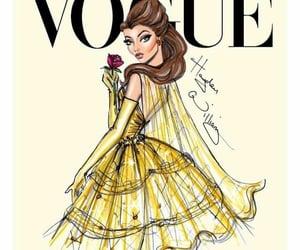 belle, digital art, and girl drawing image