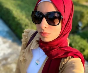 dress, abaya, and fashion image
