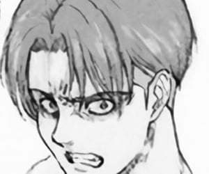 levi, attack on titan, and aot image