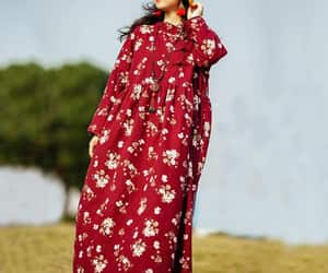 floral dress, plus size dresses, and travel robes image