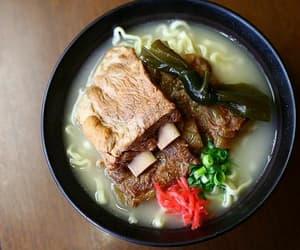 food, japanese food, and soba image