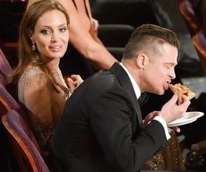Angelina Jolie, brad pitt, and celebrities image