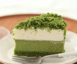 cake, postre, and cheesecake image