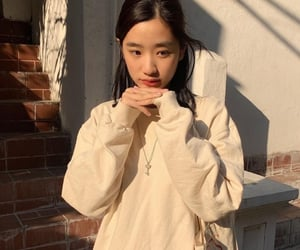 aesthetic, asian girls, and outfit image