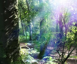 enchanted, fairy, and forest image