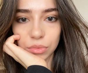 blush, girl, and lips image