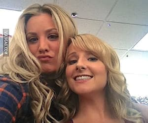 the big bang theory, kaley cuoco, and melissa rauch image