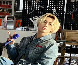 blond, hair, and jk image