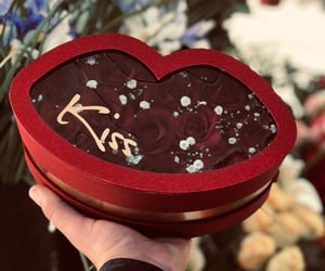 florist, kisses, and with love image