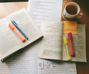 school, study, and books image