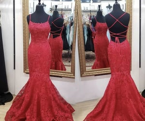 lace dress, dresses, and Prom image