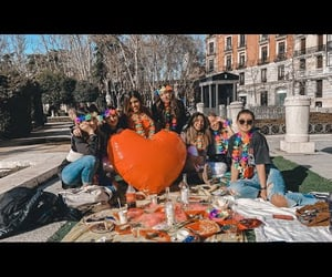 amigas, spain, and heart image