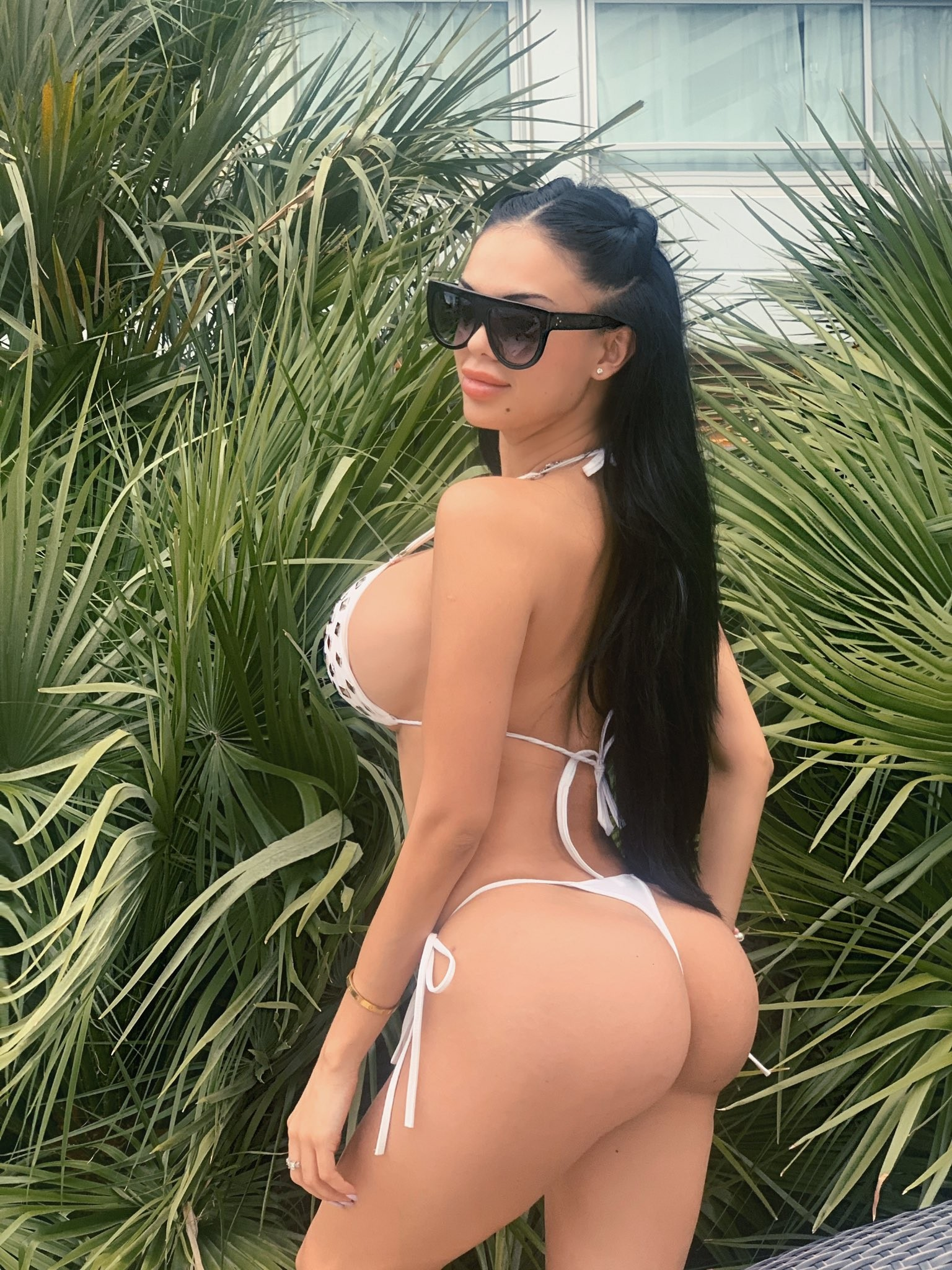 aesthetics, bikini, and fitness image
