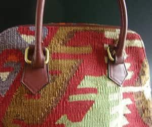 etsy, shoulder strap, and woven textile image