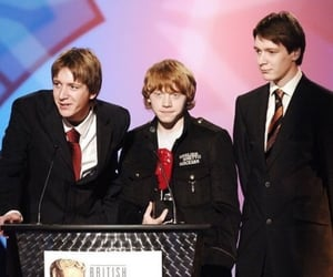 james phelps, oliver phelps, and ron weasley image