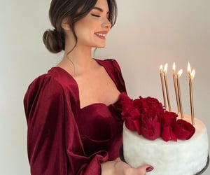 beauty, cake, and chic image