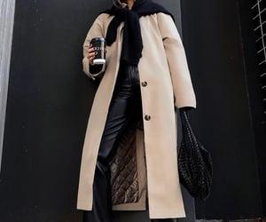 blogger, bottega veneta, and leather pants image