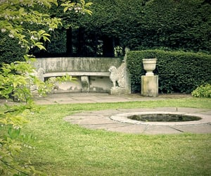 bench, garden, and the selection image