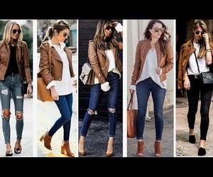 fashion, jacket, and abrigos image