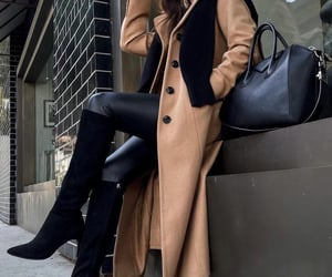 blogger, leather pants, and look image