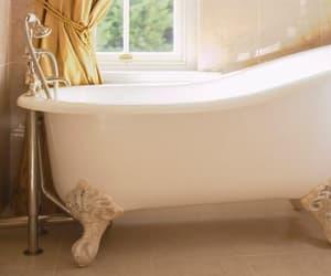 bath, bathtub, and claw image