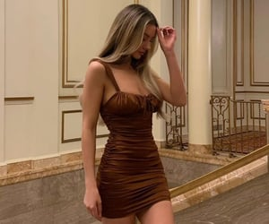 brown, fashion, and chic image