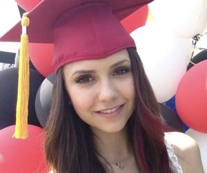 graduation, Nina Dobrev, and the vampire diaries image