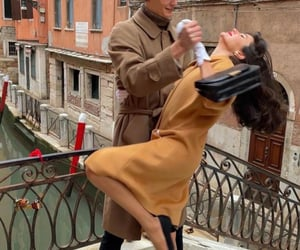 couple, venice, and dance image