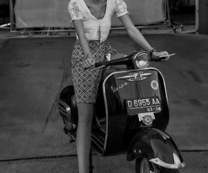taylor hill, black and white, and fashion image