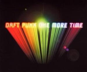 cover, album, and daft punk image