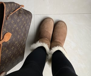 bag, coldday, and fashion image