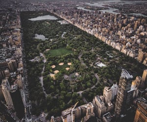 Central Park, new york, and city image
