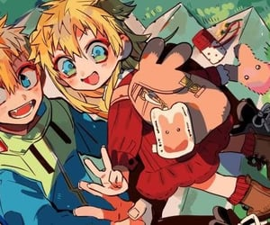 anime, tiara, and anime boy image